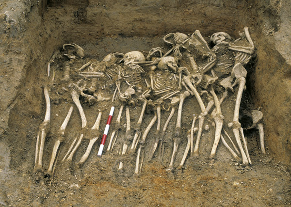 Image result for mass grave mediterranean archaeology