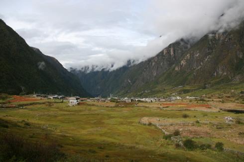 Langtang_village