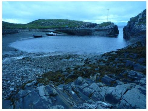 A secluded harbour on the remote island of Inish Turk, County Mayo.  We know that in the post Medieval period many of the Atlantic Islands were involved in smuggling, but how many of them might have been the locations of truly anarchic societies?