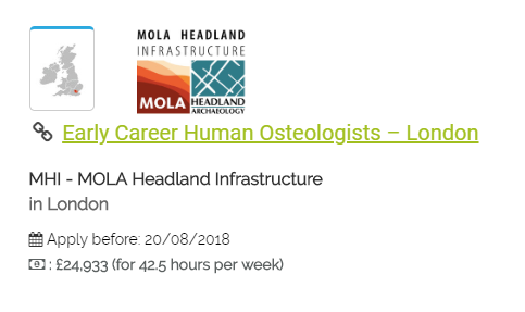 Careers osteologist pdf careers osteologist read full ebook video dailymotion array spotted early career human osteologist job s in london these rh thesebonesofmine wordpress fandeluxe Images